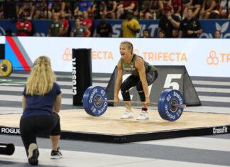 Thuri Helgadottir at the 2019 CrossFit Games.
