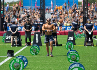 Will Moorad at the 2019 CrossFit Games.
