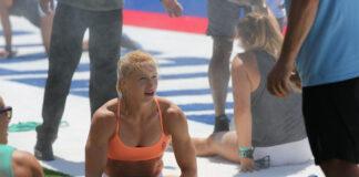 Annie Thorisdottir at the 2019 CrossFit Games