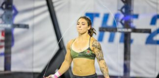 Bethany Shadburne at the 2019 CrossFit Games.