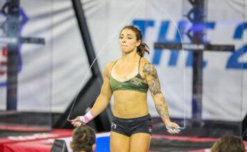 Bethany Shadburne at the 2019 CrossFit Games.