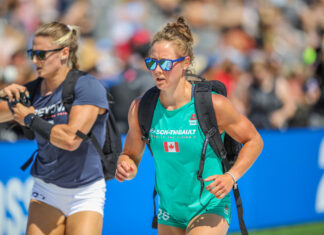 Carol-Ann Reason-Thibault at the 2019 CrossFit Games.