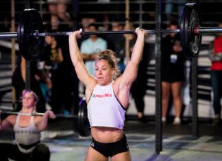 Emily Bridgers at the 2017 Wodapalooza Fitness Festival. Photo courtesy of @FLSportsGuy