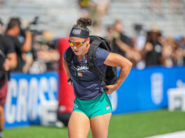 Emma McQuaid at the 2019 CrossFit Games.