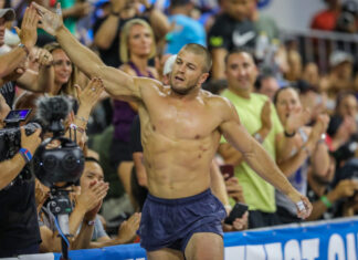 Jacob Heppner at the 2019 CrossFit Games.