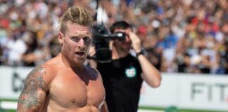 James Newbury at the 2019 CrossFit Games
