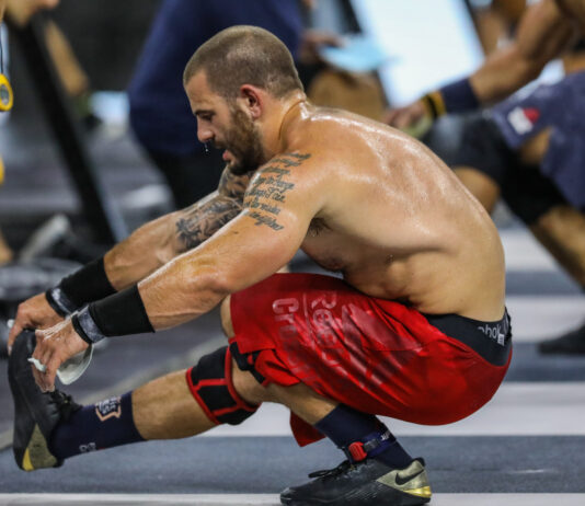 Mat Fraser at the 2019 CrossFit Games.