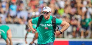 Pat Vellner at the 2019 CrossFit Games.