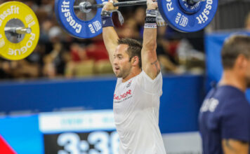 Rich Froning at the 2019 CrossFit Games.