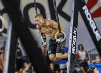 Bjorgvin Gudmundsson at the 2019 CrossFit Games.