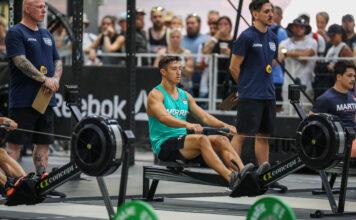 Jacob Morris at the 2019 CrossFit Games