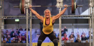 Sara Sigmundsdottir at the CrossFit Filthy 150 Sanctional. Photo via Instagram (@rxdphotography)