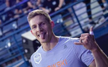 Brent Fikowski at the 2019 Dubai CrossFit Championship. Photo via Instagram (@dxbfitnesschamp)