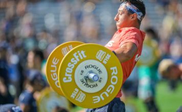 Jacob Morris at the 2019 CrossFit Games.