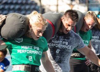 Misfit P10 Performance at the 2019 Dubai CrossFit Championship. Photo via Instagram, @dxbfitnesschamp
