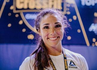 Bethany Shadburne wins the SouthFit CrossFit Challenge.